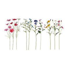 Vases, bowls & flowers - Artificial flowers - IKEA 2.99 for bridal bouquets