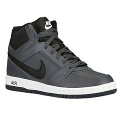 Nike Air Prestige 3 High - Men's - Basketball - Shoes - Black/New Green/White New Green, Foot Locker, Gentleman Style, The Prestige, Basketball Shoes, Black Shoes, High Tops, Black And White, Dark Grey