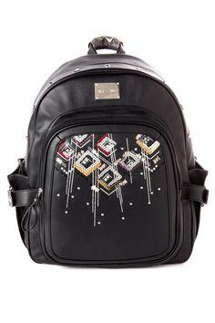 Heather Ikat Backpack in Black - Miss Me Jeans - The Original Embellished  Denim 688314a149535
