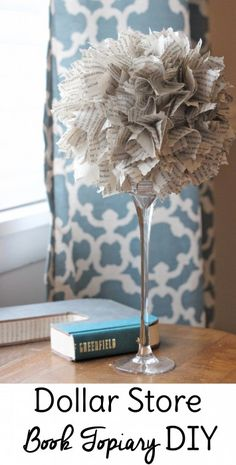 Do you love dollar store crafts? This dollar store DIY costs about $3 to make and you can find all the materials for this cute little home decor DIY at your local Dollar Tree!