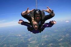 Go skydiving Skydiving, Get Over It, Bucket, Tandem Jump