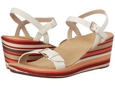 5f3cc50f418e VIONIC with Orthaheel Technology Enisa White - 6pm.com Wedge Shoes