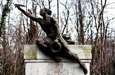 Kerepesi  Budapest European Cemeteries: The art of sensual statues in cemeteries: The male statues
