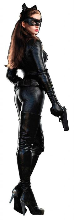 'The Dark Knight Rises:' New Hi-Res Promo Art Shows Catwoman In Full Glory!! ~ Be still my 'lil Geek heart!