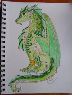guys im really really really sorry i have not been posting art we got a new computer and its really hard for me to post pictures so anyway this is turtle the seawing from wings of fire book six