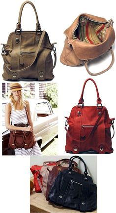 Coach handbags. Love everything about ALL of these. A girl can dream...