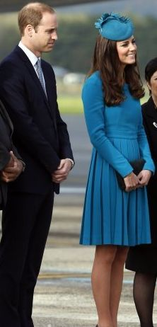 The Duke and Duchess of Cambridge in New Zealand, April 2014