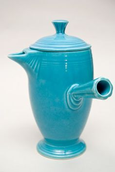 Fiestaware demitasse pot