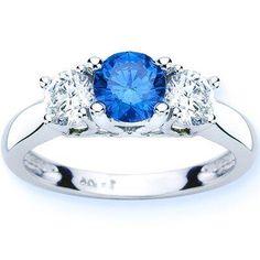Anillo con diamante azul. Precio: 7.8 millones de dólares.