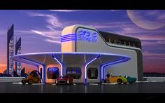 Image created for competition honoring Syd Mead. Created and rendered with modo.