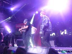James Jai and Luke onstage <3