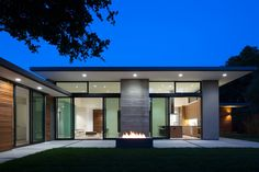 large overhang with a thin fascia, wood, concrete, stucco