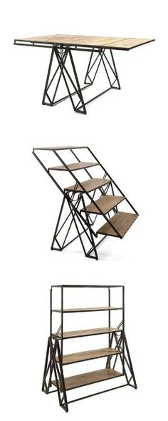 very cool! three pieces of furniture in one. by marian