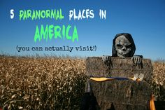 A terrifying guide to five real haunted locations in the USA you can actually visit!