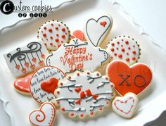 97 Best Decorated Cookies Valentine S Day Images On Pinterest In