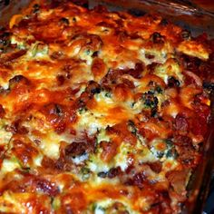 Paleasagna- filled with good things including summer squash and broccoli! :)