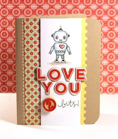 robot card
