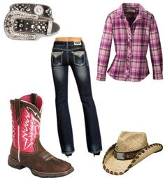 Love the boots the most! Comment what part you like about it:) Cowgirl Outfits, Cowgirl Style, School Outfits, Outfit Ideas, Boots, Clothes, Fashion, Crotch Boots, Outfits