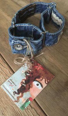 Excited to share this item from my shop: Dog Collar, Denim Dog Collar, Martingale Dog Collar, Destroyed Blue Jean Martingale Dog Collar Diy Dog Collar, Collar And Leash, Dog Collars, Collar Martingale, Pet Fashion, Dog Supplies, Dog Toys, Pet Dogs, Doggies