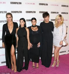 The black sheep: While Khloe, Kourtney and Kim Kardashian, along with mother Kris Jenner, ...