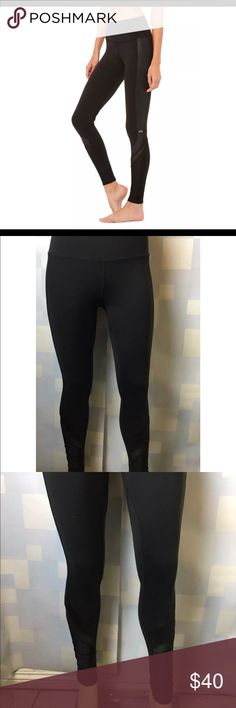 Alo Yoga Women's Elevate Legging Pre owned.  Excellent used Condition.  Small hole on seam between legs  See all photos carefully.        - Engineered to lift, sculpt, contour and smooth  - Based on our best-selling Airbrush Legging  - Contouring seam details  - Matte and shine mixing for breathability  - Wear-tested by our in-house team for the perfect fit     100%Authentic ALO Yoga Other