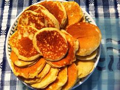 Hello Dear Reader,  We went for tea at my Mam's last night. She produced a plate of my favourite - drop scones. My mother makes these when a...