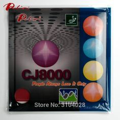 Palio official long term CJ8000 36-38 table tennis rubber BIOTECH technilogy fast attack with loop sticky  table tennis racket #Affiliate