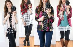 How to hide the baby bump without sizing up