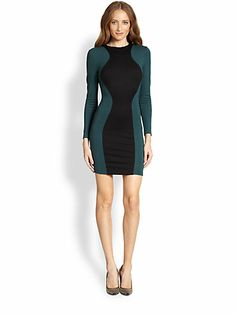 Torn by Ronny Kobo - Shiran Colorblock Stretch Jersey Dress - Saks.com