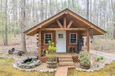 Shed out back Log Home Listed by Ginny Vickers