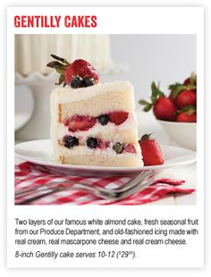 Gentilly Berry Cake Recipe