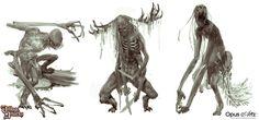 ArtStation - Grimlords Games - Village Attack Concept art dump, Bjorn Hurri