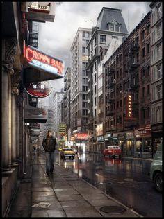 Neon City by Dennis Kaya Iversholt | 3D | CGSociety