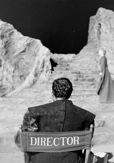 I think the enemy of [film] is of course reality, and films are best when they manage poetry by reducing the element of reality and introducing something which is the invention of the filmmaker. - Orson Welles Photo: Orson Welles on the set of Macbeth
