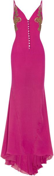 Silkgeorgette and Lace Chemise