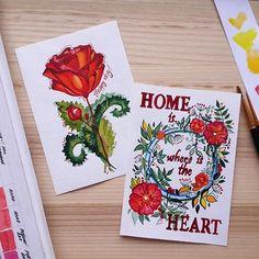 #handmadeTN #drawing #picture #colorful #bright #picoftheday #открыткиназаказ #postcard #acquarelle #aquarelle #brest_by #пригласительные #открытки #love #art