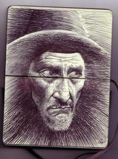 Sketchbook drawing by brendan mcloughlin 2 sketchbook drawing by brendan mcloughlin 2 Love Drawings, Art Drawings, Moleskine, Biro Art, Art Diary, Graphite Drawings, Guy Drawing, Urban Sketching, Magazine Art