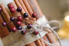 cinnamon stick candle #craft Tutorial