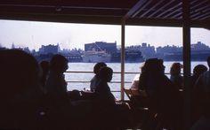 2 35mm Slides Ocean Liner Freighter Dock New York City 1964 #Ford