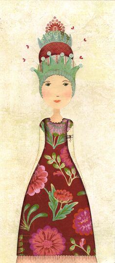 I really like her work  Vista-se como uma princesa e enfrente a segunda-feira.