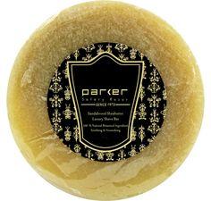 Parker barbersåp - Sandeltre og sheasmør
