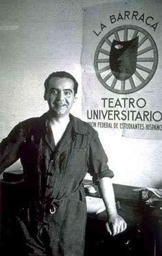 Since Federico Garcia Lorca, Spanish poet and playwright, plays an important part in the novel, it seems only fair to have a photo of him too! This is taken during his time as director of La Barranca, a travelling theatre company funded by the government of the Second Republic.