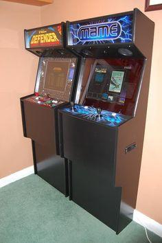 Resultado de imagen de white arcade cabinet