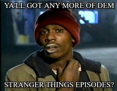 Literally feel like I'm going through withdrawals and becoming desperate for more episodes