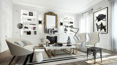 Appartement de luxe Paris