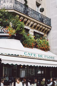 Cafe de Flore, Paris.