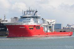 Allseas' OCEANIC at Maasvlakte 2