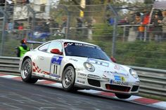 Porsche 911 GT3 RS - yes it's standard and road legal and yes it finished the Nürburgring 24 hours in 13th place overall…..