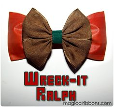 Wreck It Ralph Bow