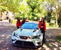 Event Hunter con Seat #eventhunters #azafatas #seat #eventos #barcelona